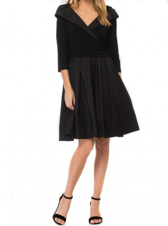 183447 Dress - Black  (Joseph Ribkoff)