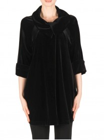 183456 Coat - Black (Joseph Ribkoff)