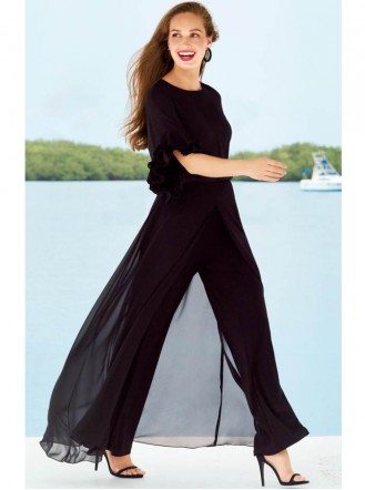 181267 Trousers - Black (Joseph Ribkoff)