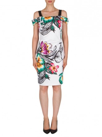 181336 Dress - Multi (Joseph Ribkoff)