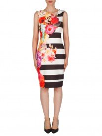 181738 Dress - Multi (Joseph Ribkoff)