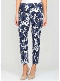 181772 Trousers - Navy/White (Joseph Ribkoff)