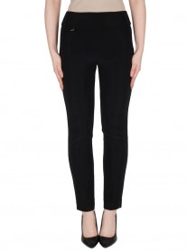 144092 Trousers - Black / White / Midnight (Joseph Ribkoff)