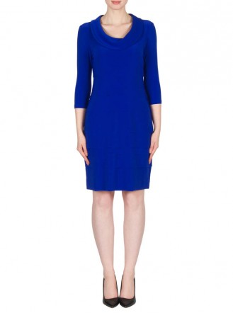 173023X Dress - Royal Blue (Joseph Ribkoff)