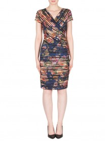 173668 Dress - Multi (Joseph Ribkoff)