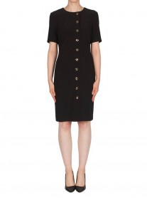 174010 Dress - Black (Joseph Ribkoff)