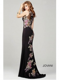 33679A - Black/Multi (Jovani)