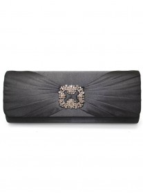 Bernie - Black Clutch Bag