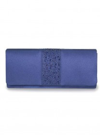 Rachel - Blue Clutch Bag (Lunar)