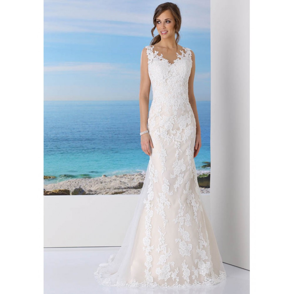 417023 - Wedding Dresses - Ladybird Wedding Dress (Ivory/Nude) by ...