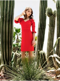 8089 Dress - Red (Laura Bernal)