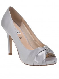 Jacklyn - Light Grey/Silver Heels (Lexus)