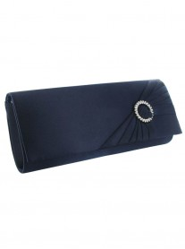 Nara - Navy Clutch Bag (Lexus)