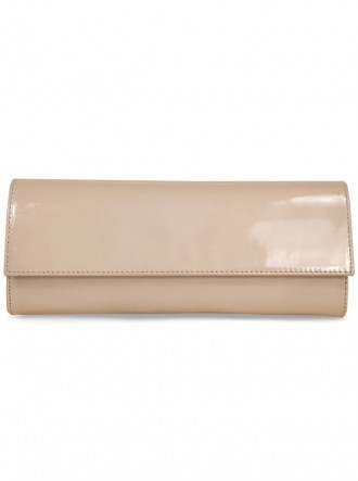 Mary - Pearl Pink Clutch Bag (Lisa Kay)