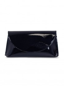 Cosmo - Navy/ Black Clutch Bag (Lisa Kay)