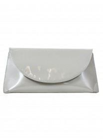 Cosmo - Silver Clutch Bag (Lisa Kay)