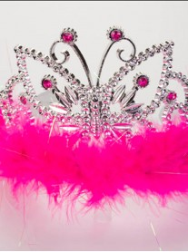 Princess Butterfly Fuchsia Pink Tiara (Lucy Locket)