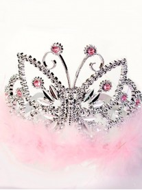 Princess Butterfly Pink Tiara (Lucy Locket)