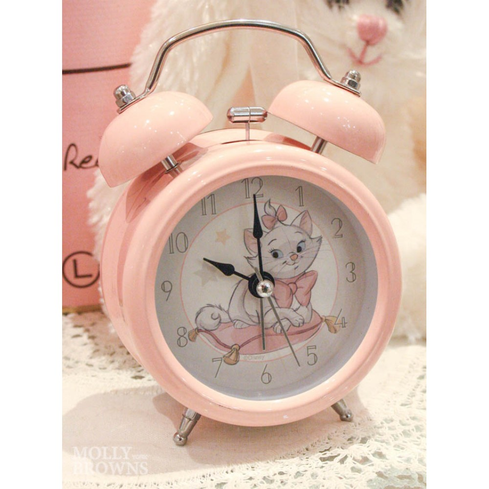 Children's Alarm Clock - Kitten (Pink) - Little Girls & Baby Gifts by Molly Browns