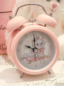 Children's Alarm Clock - Kitten (Pink)