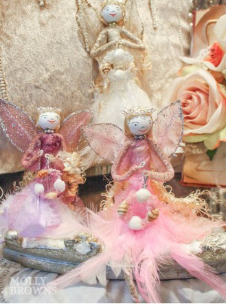Poseable Hanging Glitter Fairy