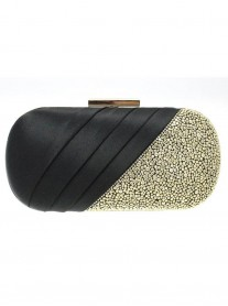 Carlton Black Clutch Bag (Lunar)