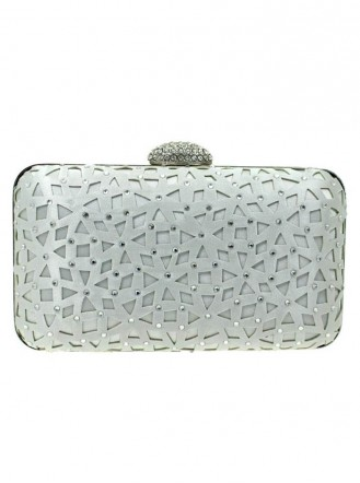 Clemont Grey Clutch Bag (Lunar)