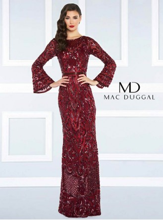 4576R - Burgundy / Midnight (Mac Duggal)