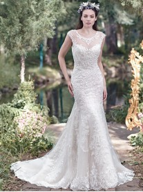 Mercedes 6MN268 - Ivory (Maggie Sottero)