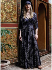 Nomad Dress/Robe - Navy (Miss June)