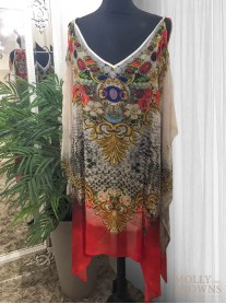 Rio - Cold Shoulder Tunic