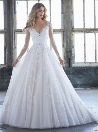 8225 Katherine - Ivory/Rose (Mori Lee)