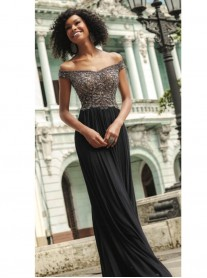42123 - Black/Gunmetal (Mori Lee)