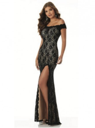42131 - Black/Nude (Mori Lee)