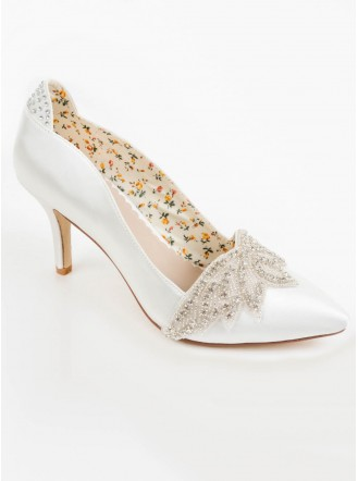 Angelica Wedding Shoes (Ivory)