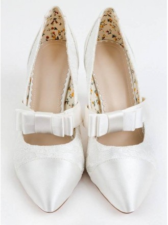 Aster Wedding Shoes (Ivory)