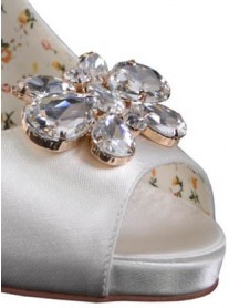 Mango Diamonte Shoe Clips
