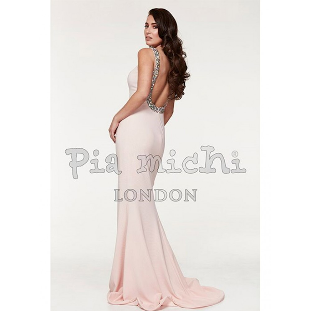 81b19ef507acd7 Pia Michi Dress Style 1221 - Blush by Molly Browns