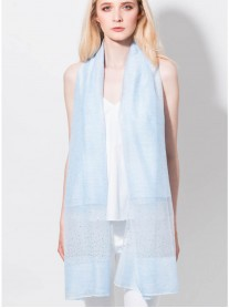 Sparkly Scarf - Ice Blue