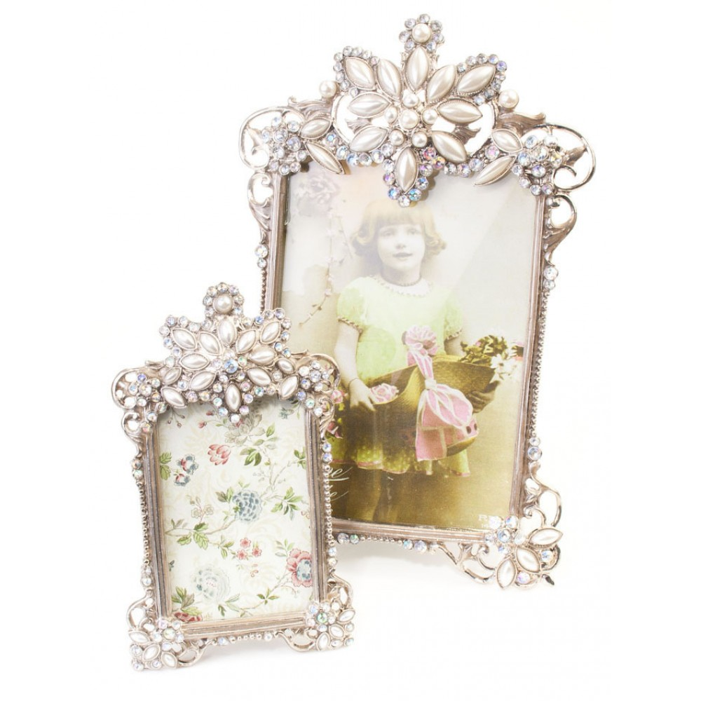 antique silver picture frame set picture frames by molly. Black Bedroom Furniture Sets. Home Design Ideas