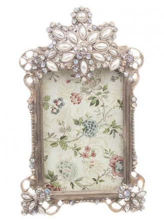 Smal Antique Silver Picture Frame 3 x 2 - Picture Frames by Molly Browns