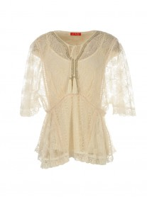 S625030 Flonflon Blouse - Cream (Rene Derhy)
