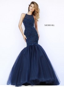 32095 - Navy (Sherri Hill)