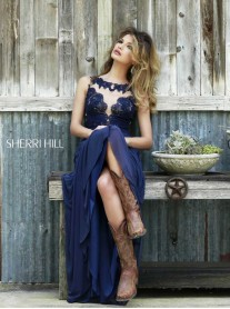 5207 - Navy (Sherri Hill)