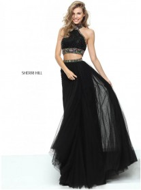 50820 - Black (Sherri Hill)