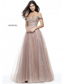50832 - Dark Nude (Sherri Hill)