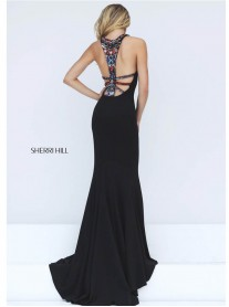 50835 - Black/Multi (Sherri Hill)