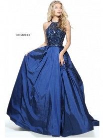51242 - Navy (Sherri Hill)