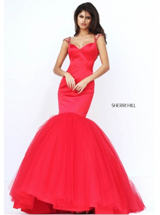 50822 - Red (Sherri Hill)