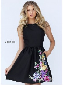 50828 - Black/Multi (Sherri Hill)